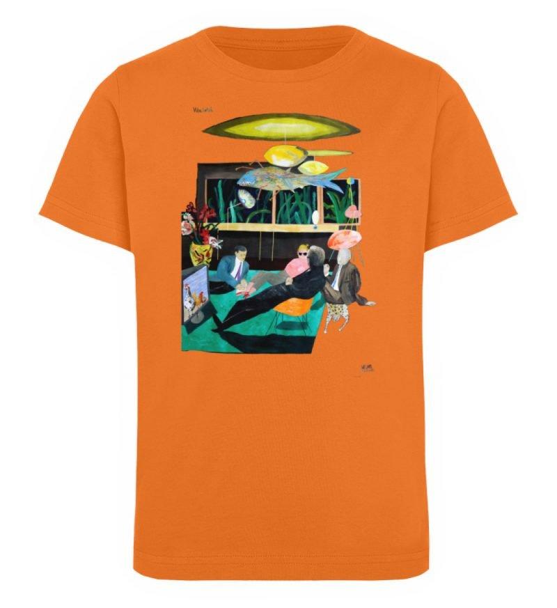 """Vita Hotel"" von King Kong Kunstkabinett - Kinder Organic T-Shirt-6882"