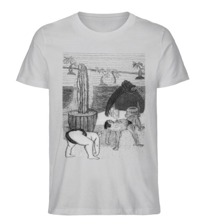 """Work Out"" von King Kong Kunstkabinett - Herren Premium Organic Shirt-17"