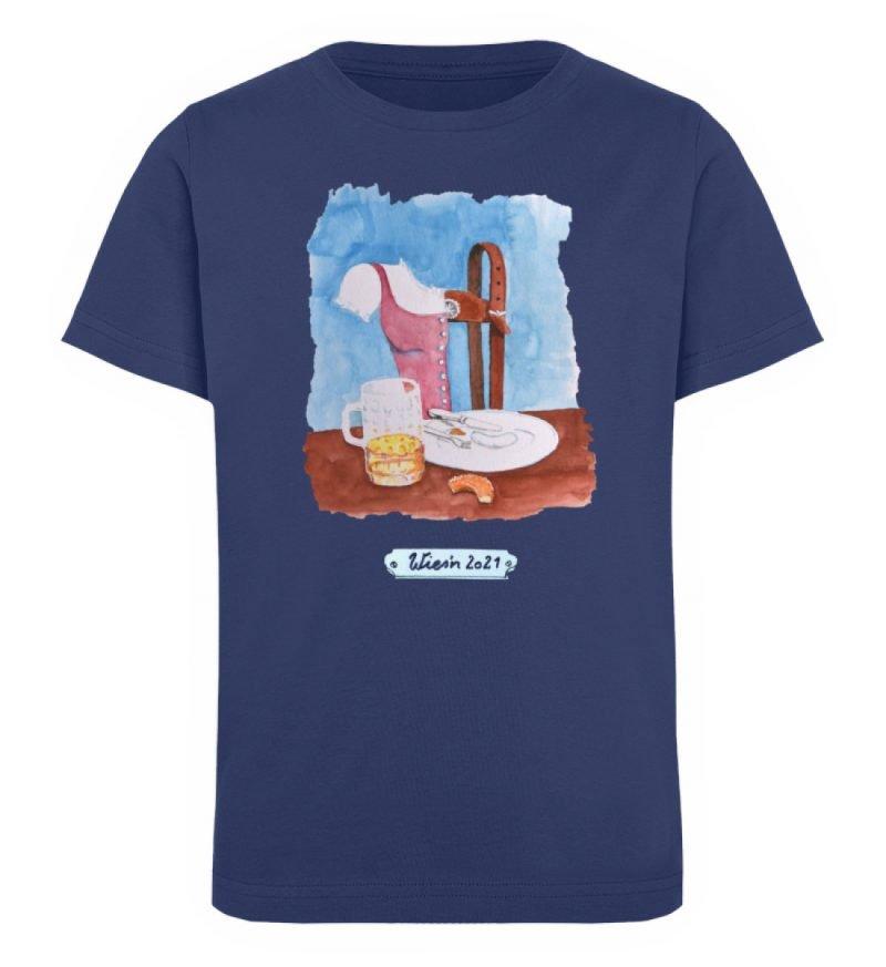 """""""Wies`n 2021"""" von Wulf Schiel - Kinder Organic T-Shirt-6057"""