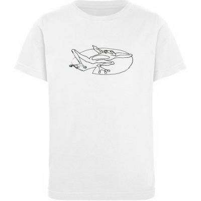 """""""Froschherrennatur"""" von Sarah Ludes - Kinder Organic T-Shirt-3"""