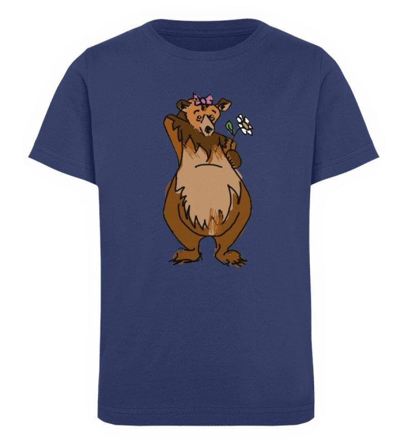 """""""Der Bär"""" von Sarah Ludes - Kinder Organic T-Shirt-6057"""